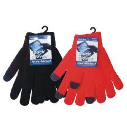 36 of Winter Text Finger Glove