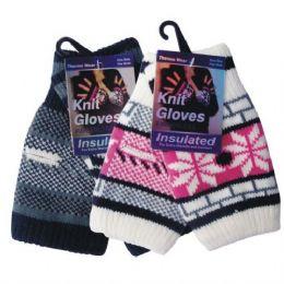 96 of Winter Glove Knit Women Fingerless