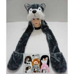 72 of Plush Animal Hats With Hand Warmers
