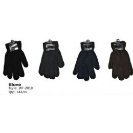 144 of Mens Heavy Knit Winter Glove