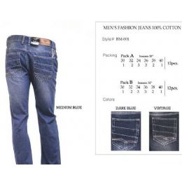 12 of Mens Vintage Trendy Jeans