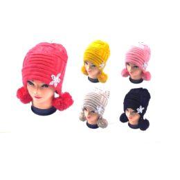 36 of Ladies Pom Pom Hat