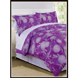 6 of Floral Bed In A Bag California King Size