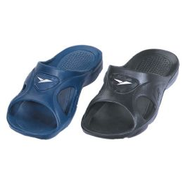36 of Men's Sandals in Black and Blue