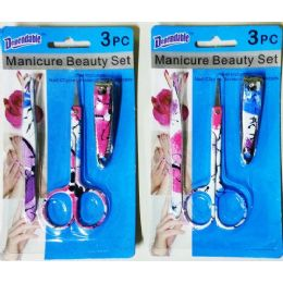 48 of 3 Pack Manicure Set