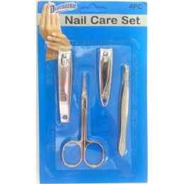 48 of 4 Piece Nail Implement Set