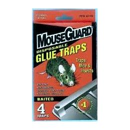 48 of Baited Disposable Mouse Glue Trap 4 Pack