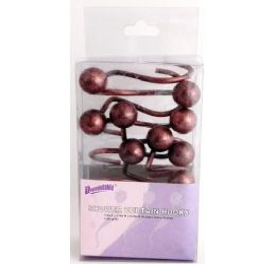 12 of Bronze Shower Curtain Hooks Ball