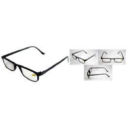 72 of Black Shiny Half Eye Reading Glasses