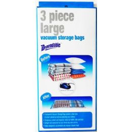 12 of 3 Piece Large Vacuum Storage Bags