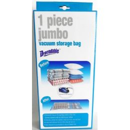 12 of 1 Piece Jumbo Vacuum Storage Bag
