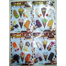 48 of 6 Pack Ice Cream Magnet Assortment