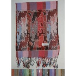 24 of Fashion Pashmina With FringE--Stripes And Metallic Camo