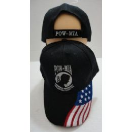 24 of Pow/mia Hat [flag On Bill]