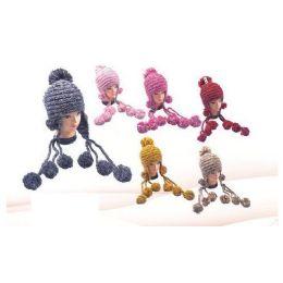 36 of Crochet Pom Pom Winter Hat