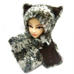 36 of Winter Animal Hat With Hand Warmer