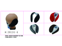120 of Soft Solid Earmuff W/ Faux Fur