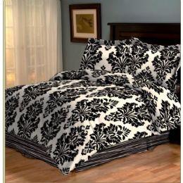 6 of 4 Piece Barcelona Comforter Set Full Size