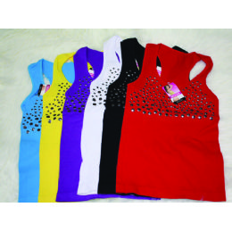 72 of Ladies Top With Studs