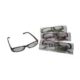144 of Plastic Printed Reading Glasses With Case
