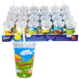 24 of Insulated Tumbler 10oz Printed Kids