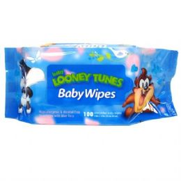 48 of Baby Wipes 100CT Baby Looney Tunes Blue