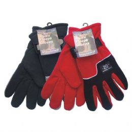 36 of Winter Fleece Glove Men hd