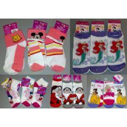 300 of Walt Dsisney Mix Socks For Girls