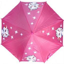 48 of Kid Size Cat Umbrella Pink