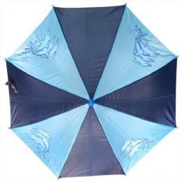 48 of Kid Size Fish Umbrells in Blue