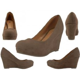 "12 of Women's Microsuede With 3 1/4"" Wedge"