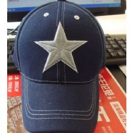 24 of Child's Cap With Large Star