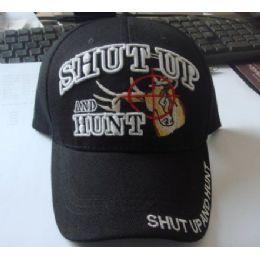 48 of SHUT UP & HUNT Hat *Deer in Crosshairs*