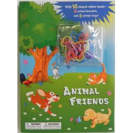 36 of Animal Friends Coloring Book With Bracelets