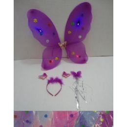 36 of 3pc Butterfly WingS-WanD-Headband Dress Up Set