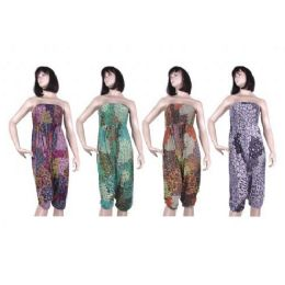 72 of Ladies Summer Dress In Assorted Colors