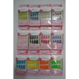 72 of Decorated Artificial NailS-Felt