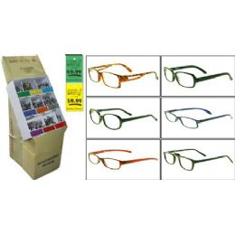 300 of Plastic Asst Reading Glasses W/ Display