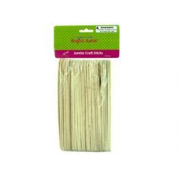 75 of Jumbo Wood Craft Sticks