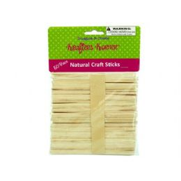 75 of Natural Wood Craft Sticks