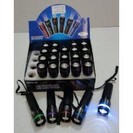 120 of 3w Super Bright Zoom Flashlight [metal]