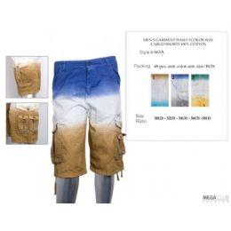 48 of Mens Cargo Shorts 100% Cotton