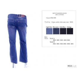 12 of Mens Trendy Jeans Sizes 30-38