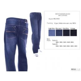 12 of Mens Trendy Jeans Sizes 32-42