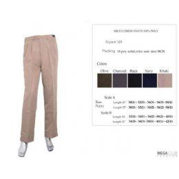 18 of Mens Dress Pants Size Scale B 32-42