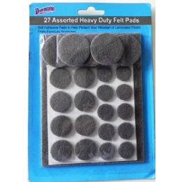 96 of Felt Pads Pack Of 27 Heavy Duty Self Adhesive