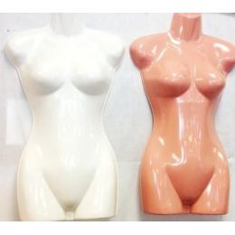 36 of Half Body Plastic Mannequin/ Dress Models
