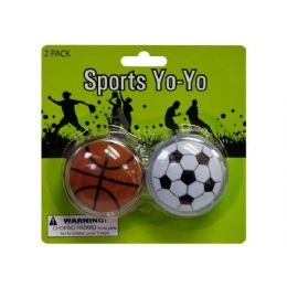 72 of Sports YO-Yo Set