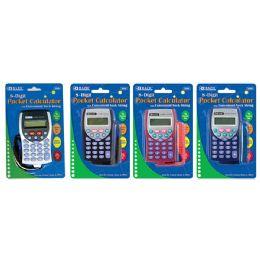 72 of Bazic 8-Digit Pocket Size Calculator W/ Neck String