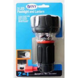 12 of LED Flashlight and Lantern in 1